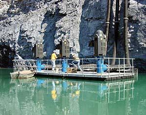 Pump Docks In British Columbia Alberta Canada