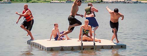 Connect-A-Dock Swim Platforms