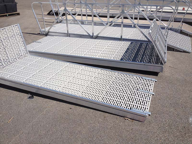 Residential Aluminum Gangways And Ramps In British
