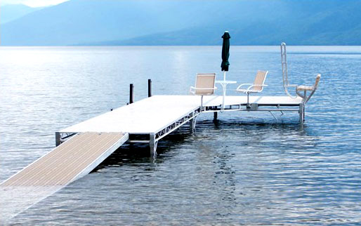 Shoremaster TS9 wheel-in dock system